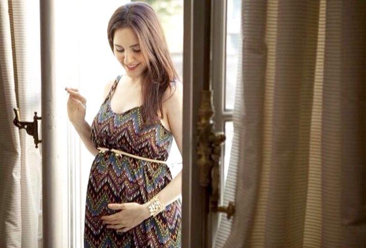 Julieta Díaz a poco de ser mamá: Tengo la panza en la cabeza