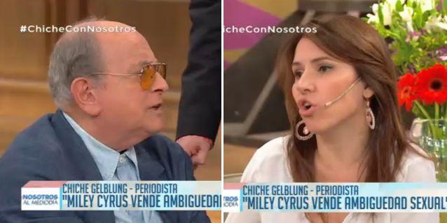 Chiche Gelblung se peleó con Fernanda Iglesias en el programa de Doman, se levantó y se fue
