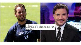 Escandalosa pelea; el Ogro Fabbiani quiere fajar a Brancatelli