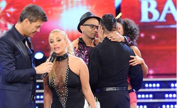 En una votación reñida, El Cuba eliminó a María Eugenia Ritó del Bailando