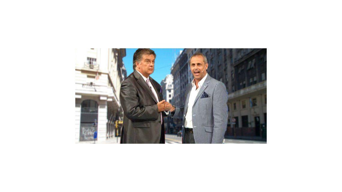 Jorge Rial y Luis Ventura: el reencuentro