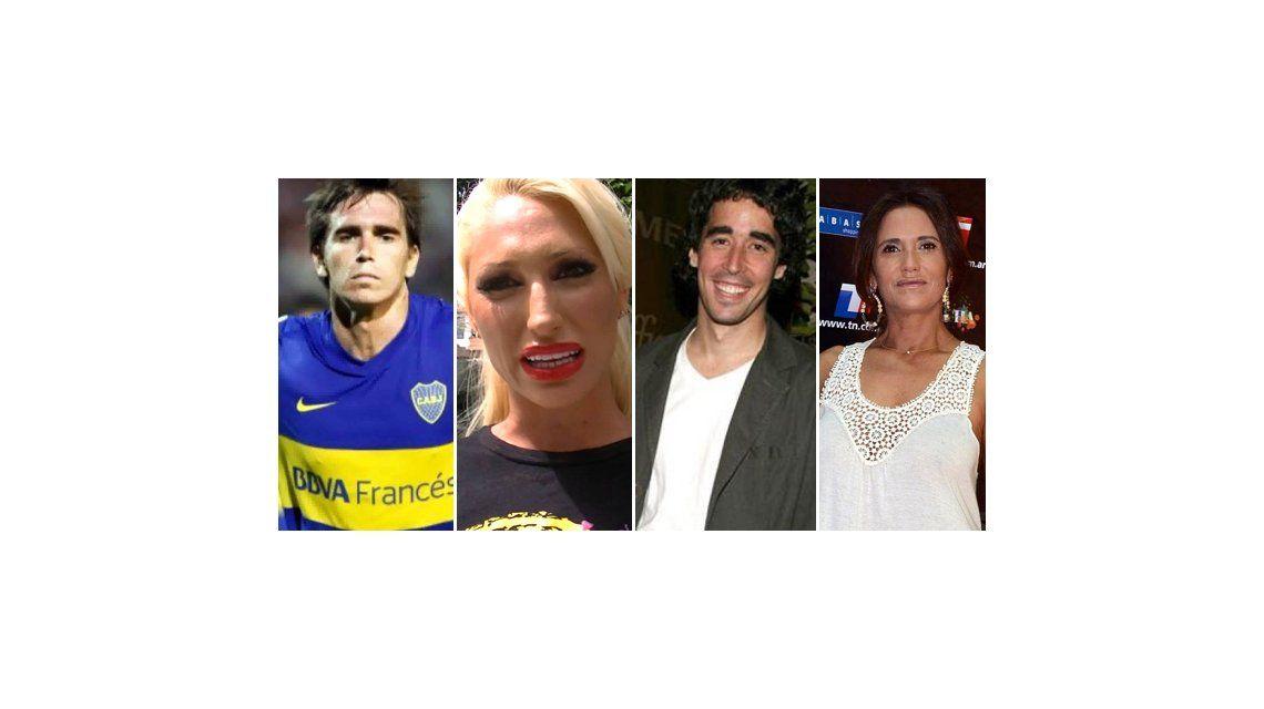 Domingo de fútbol: así vivieron los famosos el Superclásico