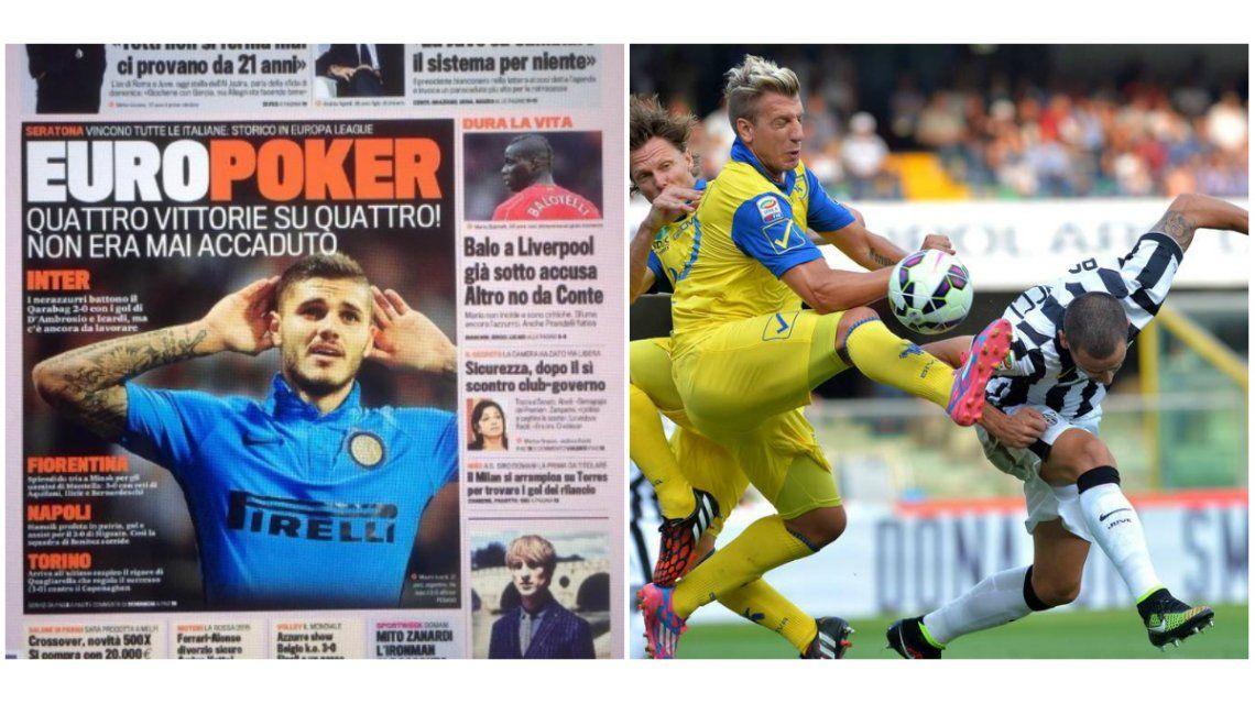 La venganza: Mauro Icardi es tapa de diarios en Europa mientras Maxi López navega en la intrascendencia