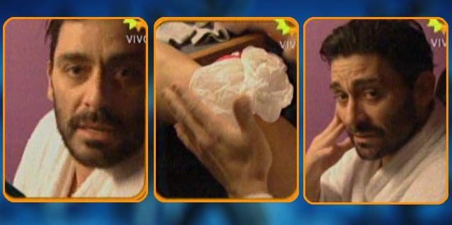 Hernán Piquín sufrió un fuerte accidente y peligra su continuidad en el Bailando