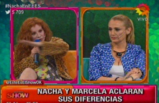 La pelea histórica de Nacha Guevara y Marcela Coronel: Eras militante y hacías un programa frívolo, le dijo la periodista
