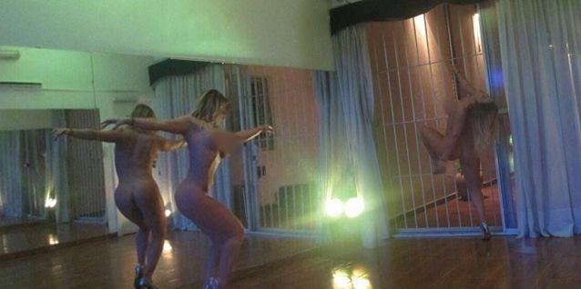 El video hot de Ayelén Paleo: bailó tango desnuda