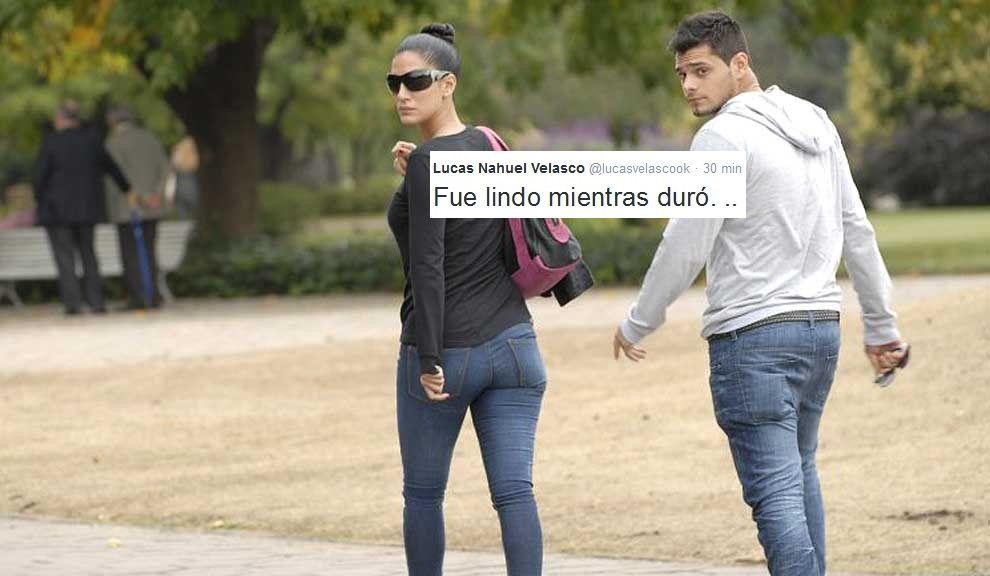 ¿Un nuevo ex para Escudero? Lucas Velasco: Fue lindo mientras duró