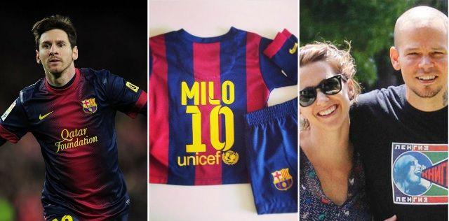 El regalo de Messi para Soledad Fandiño, René, de Calle 13 y su hijo Milo