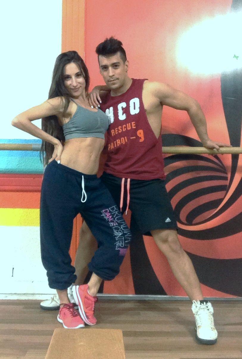 Magui Bravi al Bailando paraguayo con Jorge Moliniers