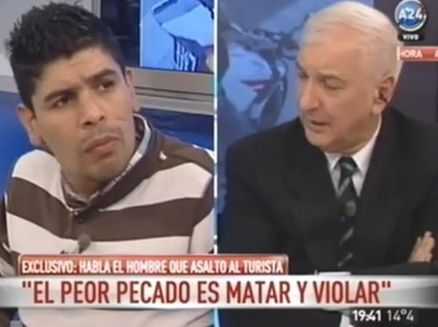 Motochorro en TV: ¿Periodismo o morbo?