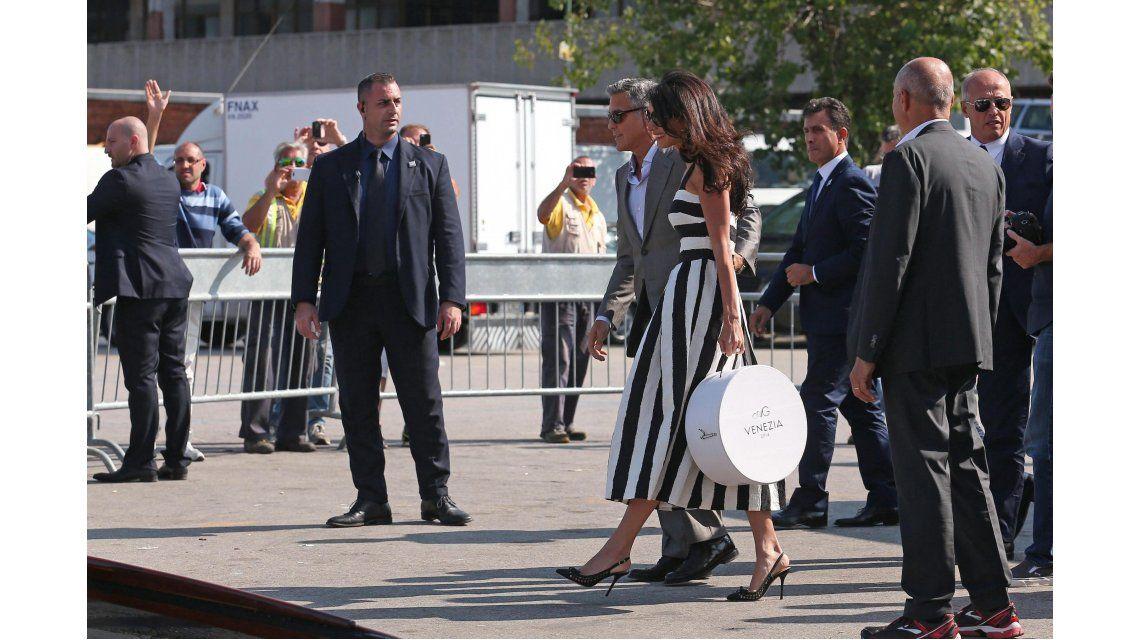 La llegada de la pareja a Venecia