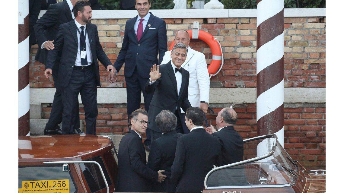 El fin de una era: se casó George Clooney con una boda lujosa en Venecia