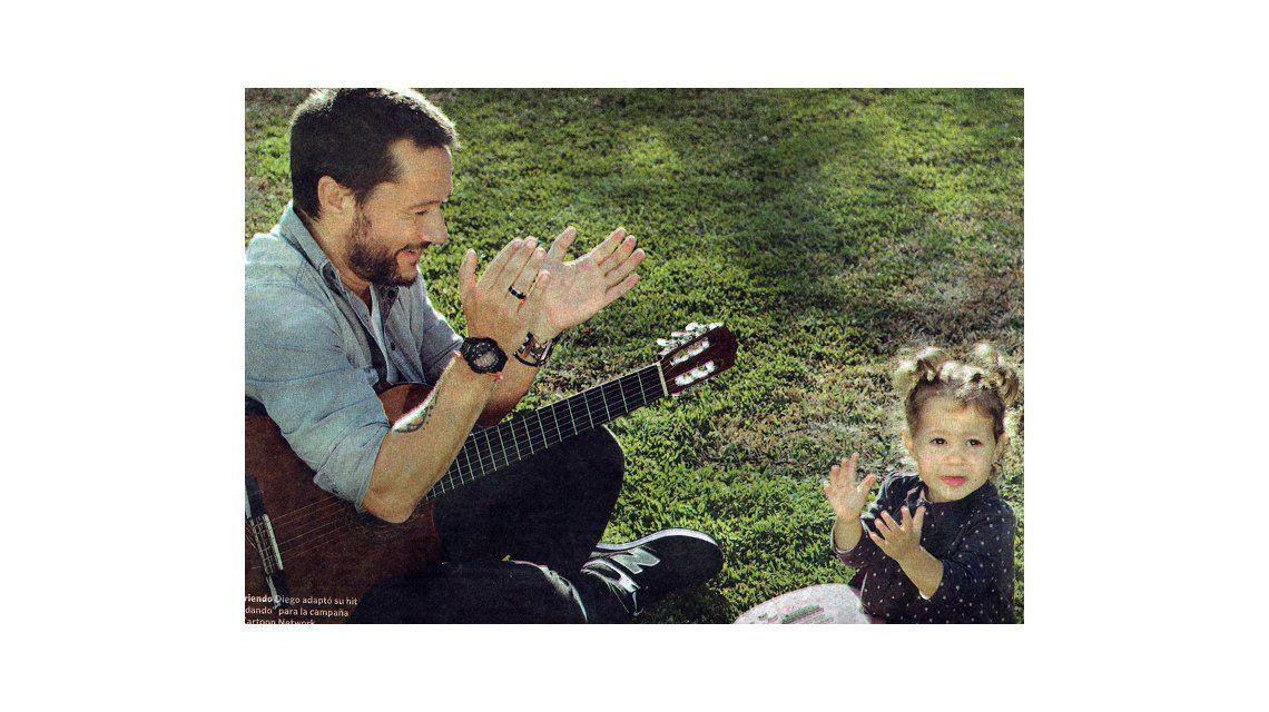 La producción de Diego Torres con su hija Nina: Soy un niñero ejemplar