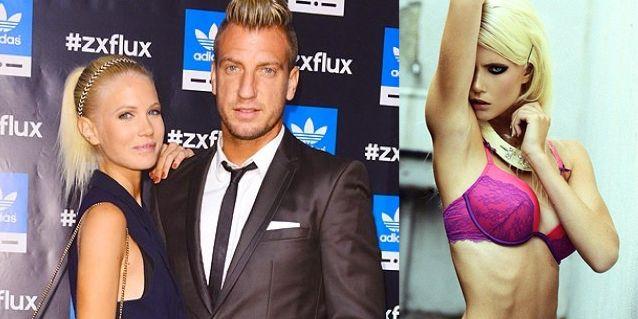 Maxi López dejó en el pasado a Wanda y sale con una infartante modelo sueca