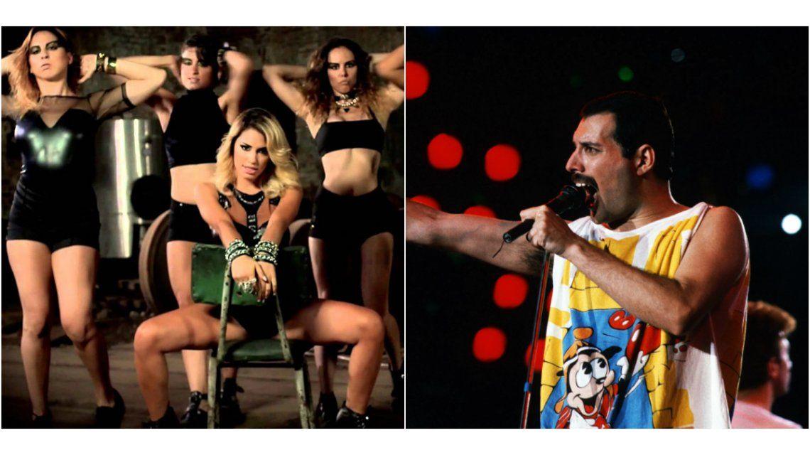 El pasado andrógino de Lali Espósito: imitaba a Freddie Mercury