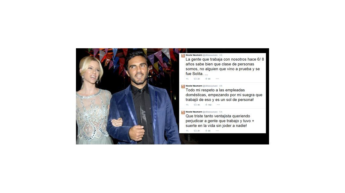 La furiosa respuesta de Nicole Neumann y Fabián Cubero a la empleada que los acusó de explotadores