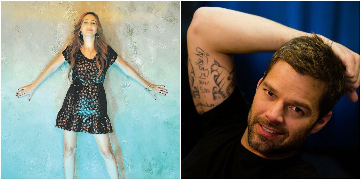 El misterio del día: datos del romance vintage Vero Lozano - Ricky Martin