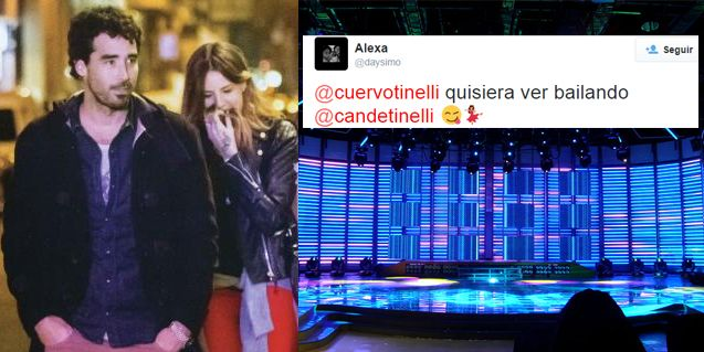 Un fanático propone a Candelaria Tinelli al Bailando, Nacho Viale apoya: ¿y ella?