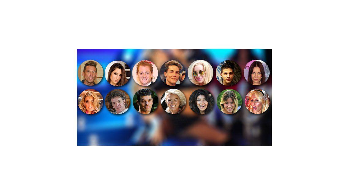 Los famosos que la gente le pide a Tinelli para que entren al Bailando 2014