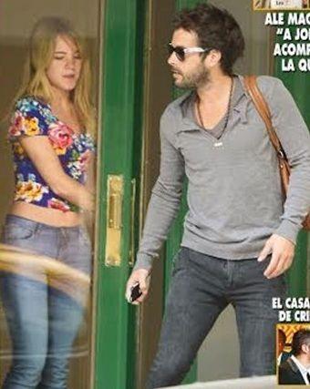 La primera foto que confirma el romance de Nicolás Cabré con la bailarina de Tinelli