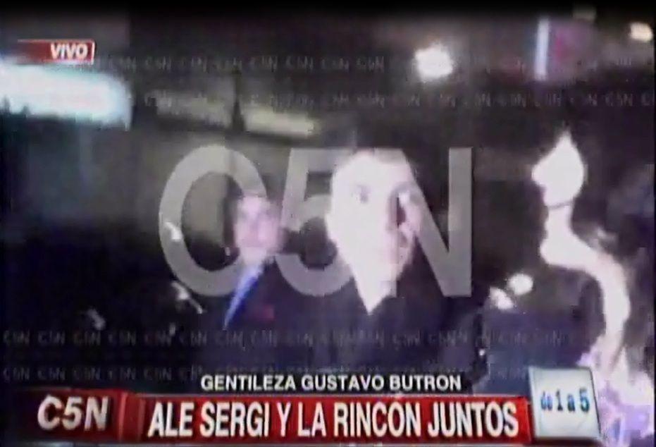Ale Sergi y Andrea Rincón están otra vez juntos