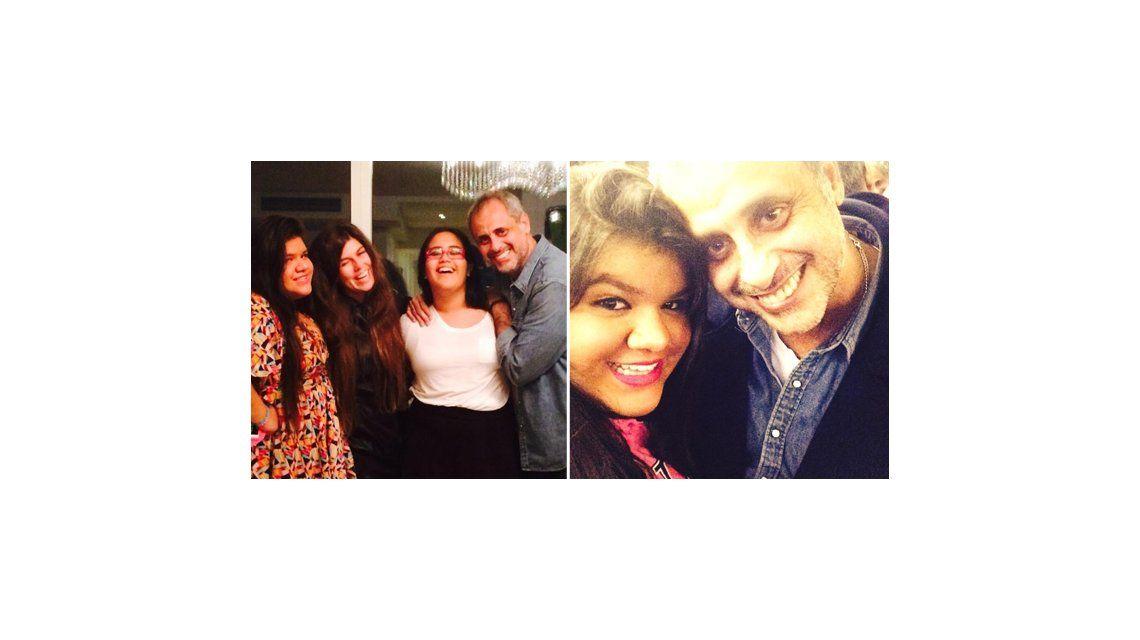 Rial, un padre orgulloso: Admiro a mucha gente pero a ninguna como a Morena