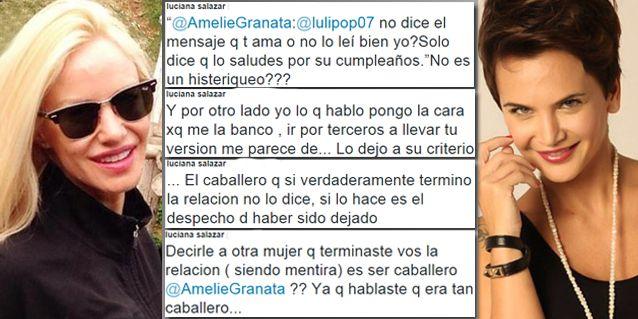 La escandalosa guerra tuitera de Luciana Salazar y Amalia Granata por Martín Redrado