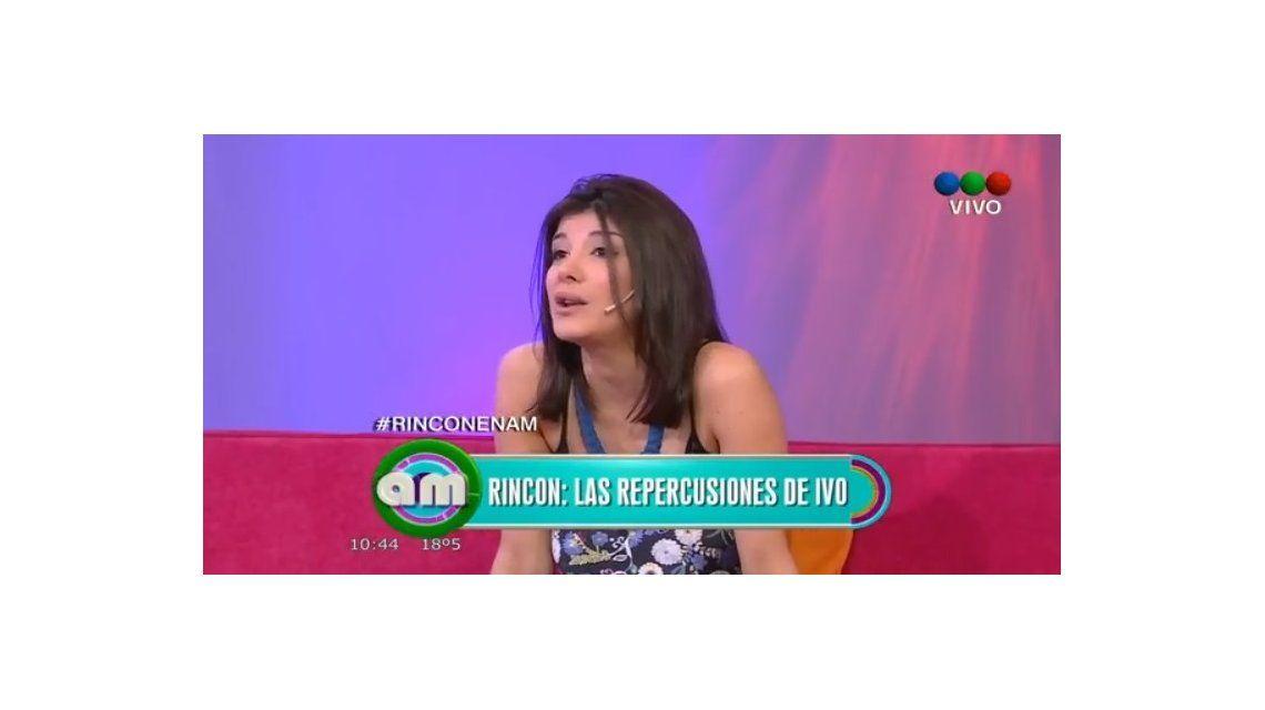 Se le escapó a Andrea Rincón: Me encanta Chano
