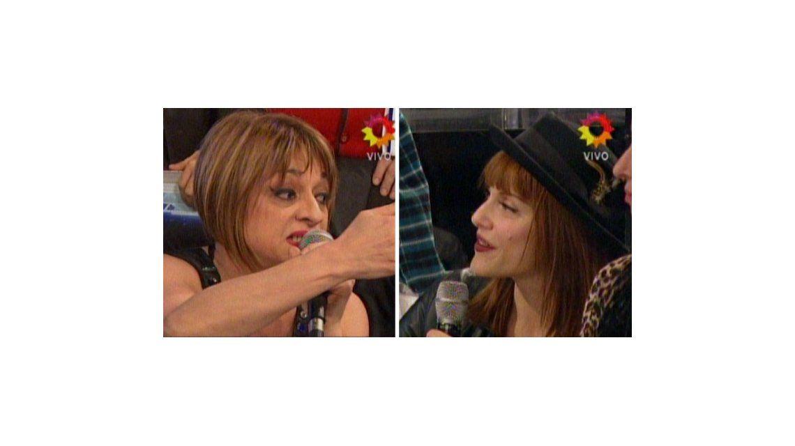 La pelea de Marcela Feudale y Connie Ansaldi: No tenés código