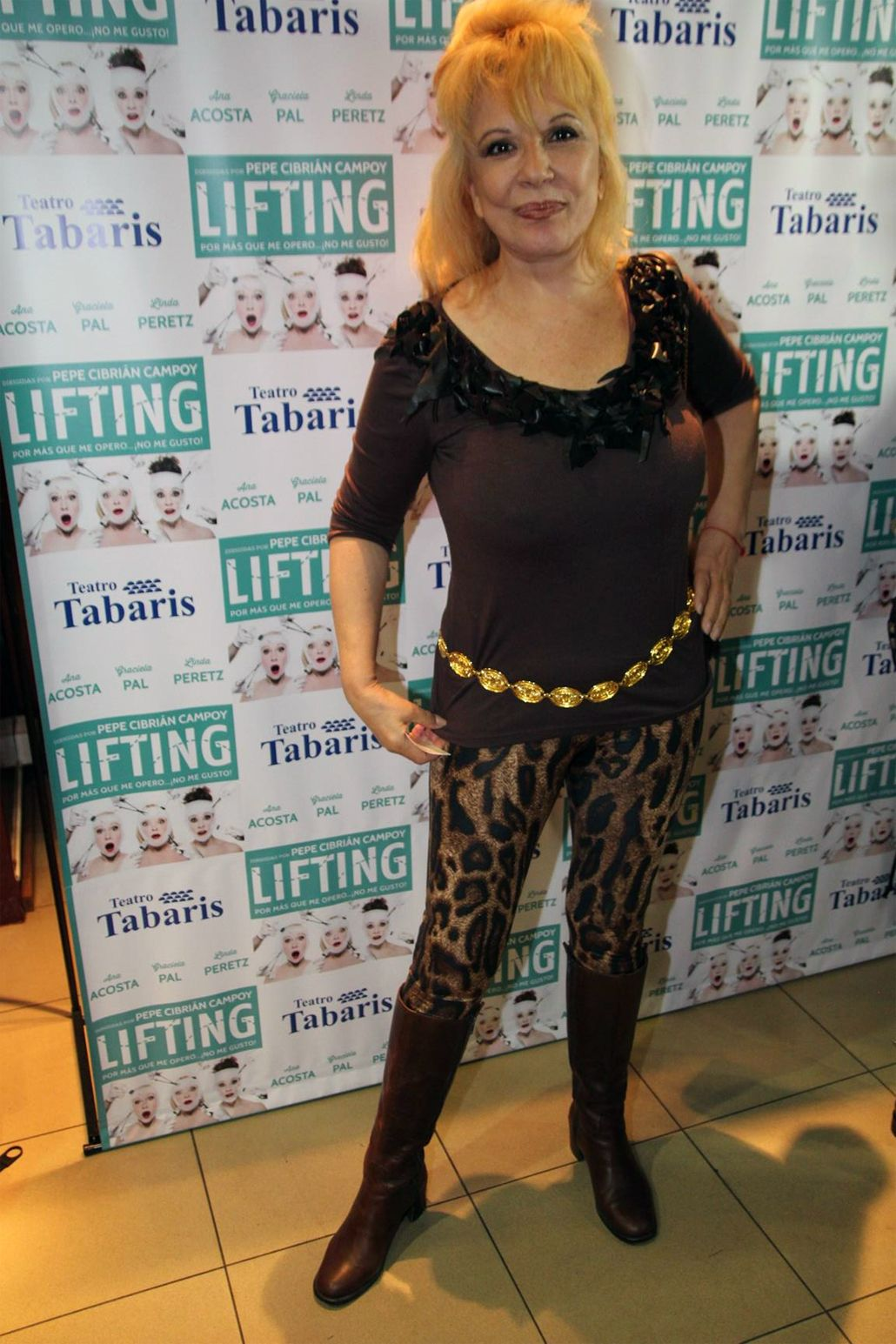 Sentido homenaje a China Zorrilla en el estreno de Lifting