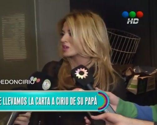 Jésica Cirio habló de su padre extorsionador: No se merece nada