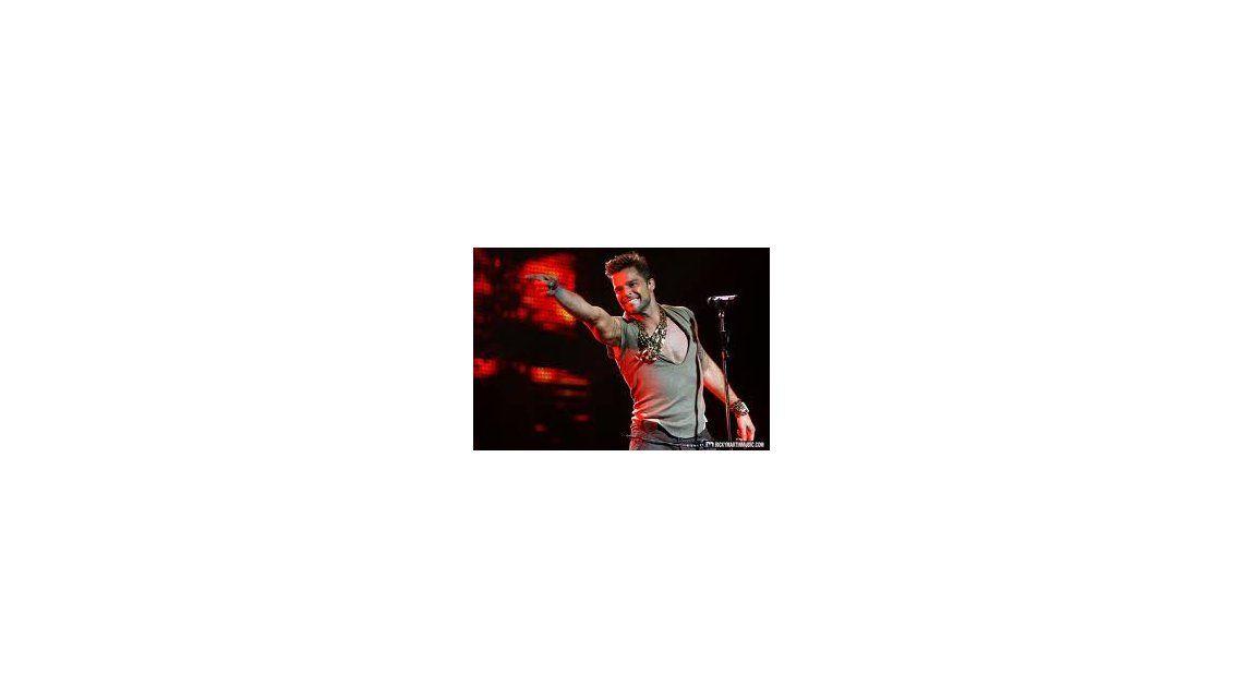 Ricky Martin, en Argentina: en octubre dará un show a beneficio