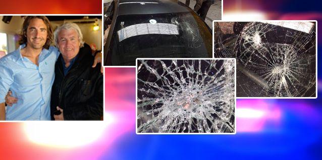 Rocío Girao Díaz: No fue un accidente, sino un hecho de inseguridad; le tiraron un ladrillo en el parabrisas