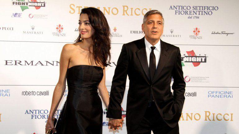 Información confidencial: revelan la fecha de casamiento de George Clooney
