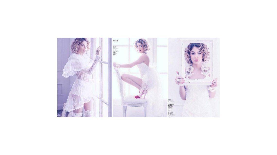 Novia sexy: la sensual producción de Tini Stoessel para la revista de Susana