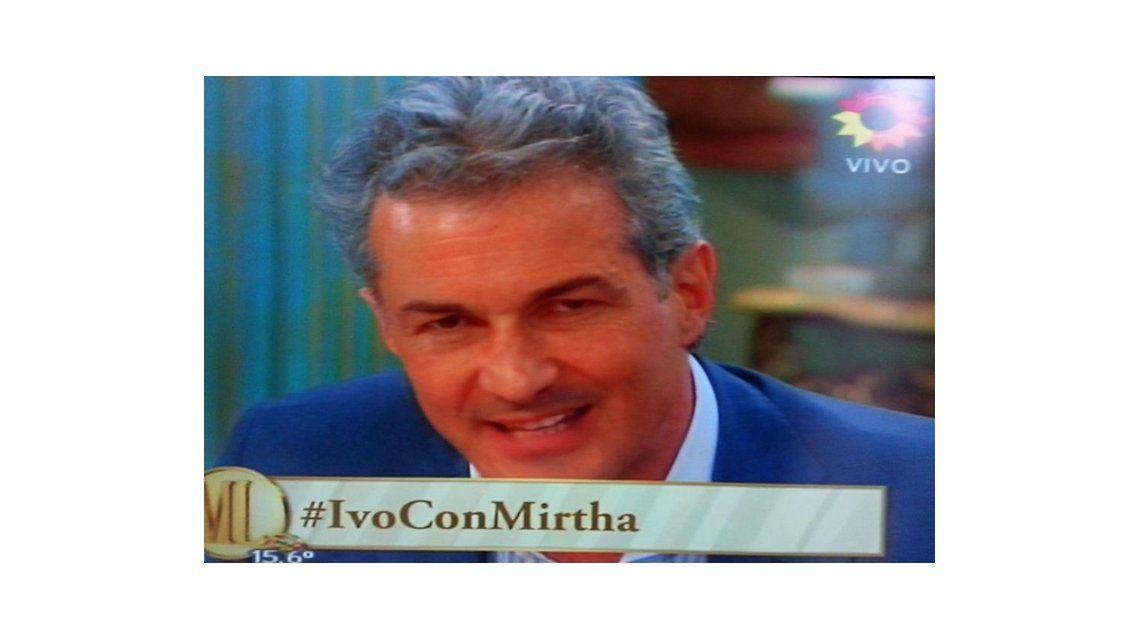 Con picos de 10.6 de rating, Ivo volvió a referirse a la inseguridad en lo de Mirtha: Estoy diciendo el clamor popular