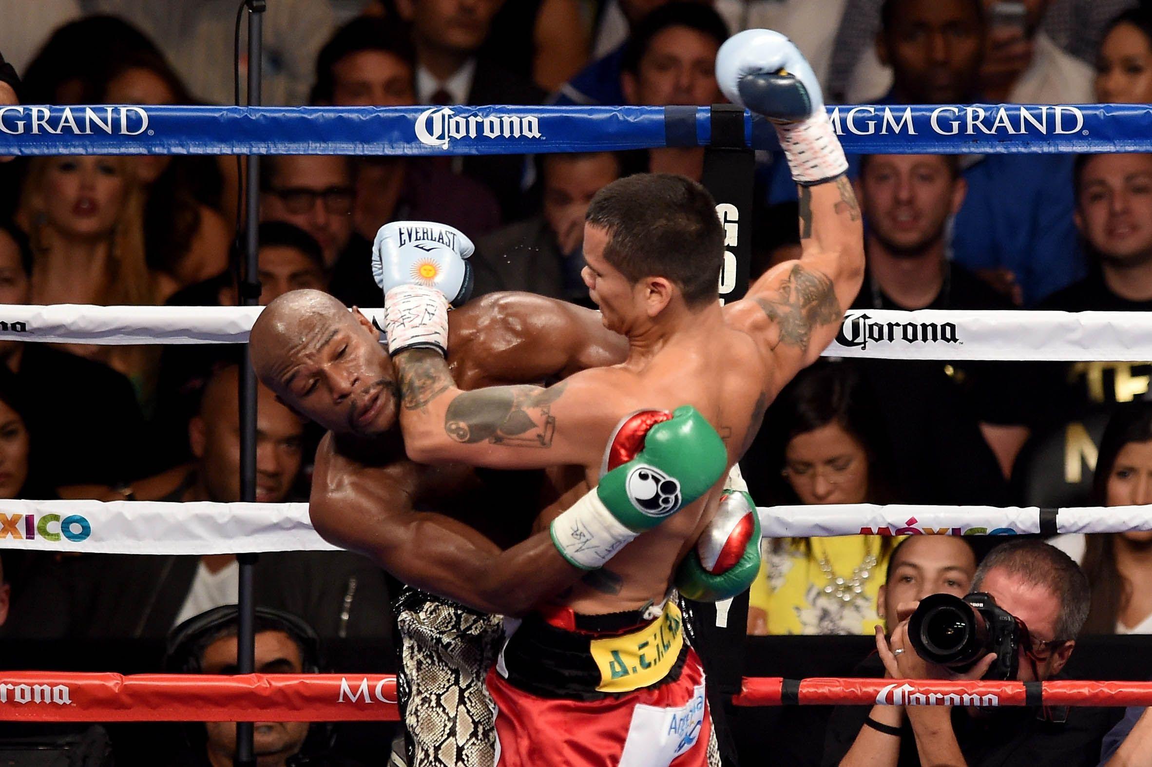 Chino Maidana y Floyd Mayweather: la pelea del año tuvo picos de 25 puntos