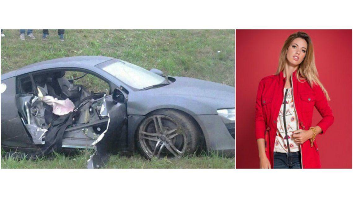 El drama de Rocío Guirao Díaz: su suegro se mató en un accidente de auto