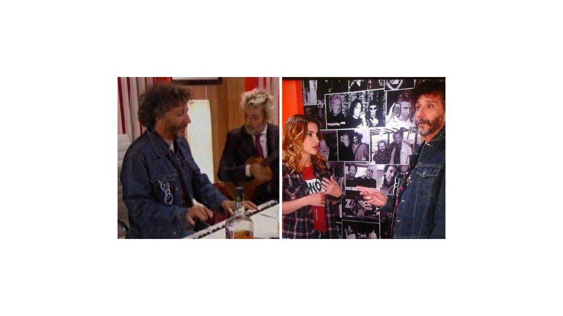Reencuentro con música: Fito Páez intentó conquistar a Celeste Cid en Viudas e hijos del rock and roll