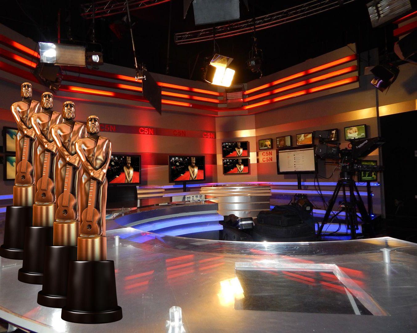 C5N, entre los más nominados a los premios Martín Fierro del cable