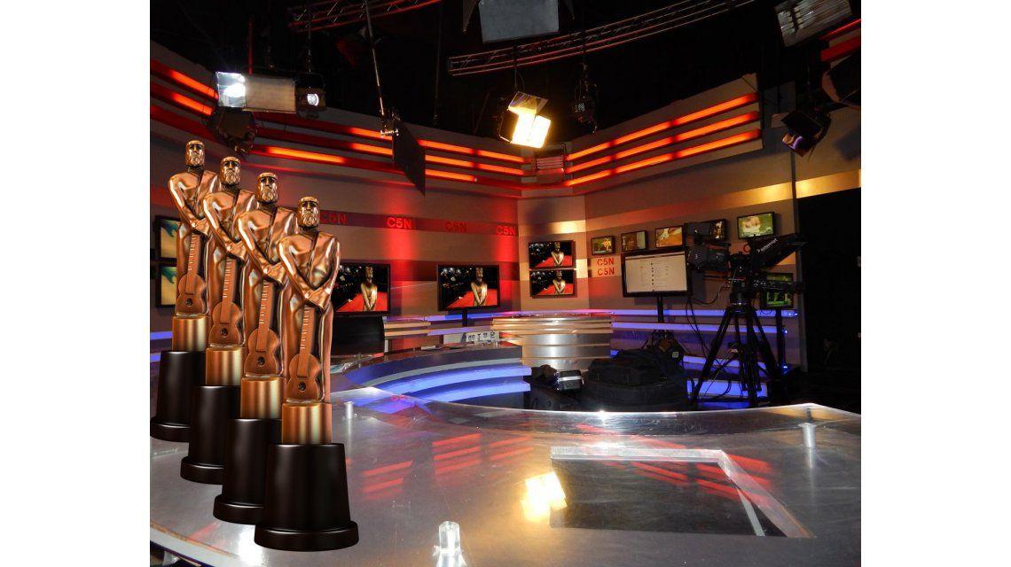 Hoy se entregan los premios Martín Fierro del cable: C5N, entre los más nominados