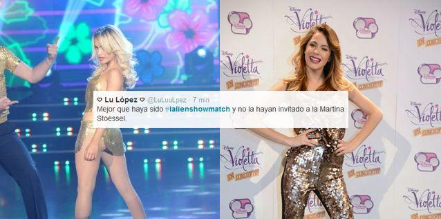 Las fans de Espósito: Violetta, decime qué se siente, ver a Lali en Showmatch