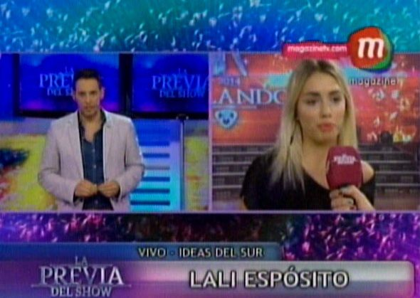 Lali Espósito debuta en la pista del Bailando y apuntó contra Polino: No le tengo miedo