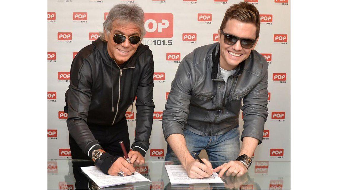 Beto Casella y Santiago del Moro renovaron contrato con Pop 101.5 para 2015