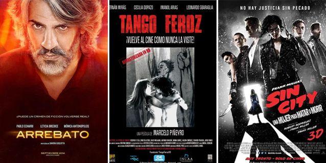 Vuelve Tango Feroz en HD, llega la nueva de Echarri y otra de Sin City