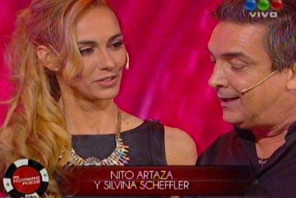 Nito Artaza y la profe Silvina Scheffler reaparecieron juntos en lo de Susana: Intentamos ser felices