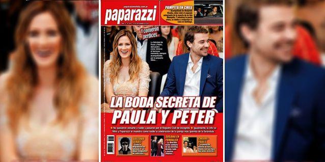 La intimidad del casamiento de Paula Chaves y Pedro Alfonso