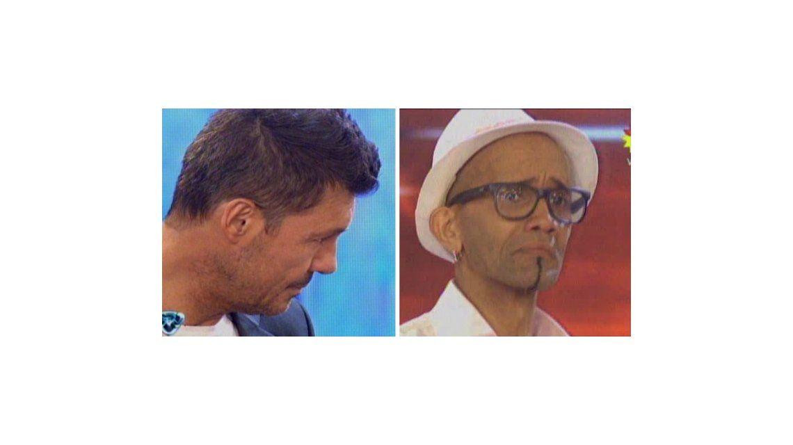 Las lágrimas de Tinelli: su colaborador El Cuba llegó al Bailando y emocionó a todos