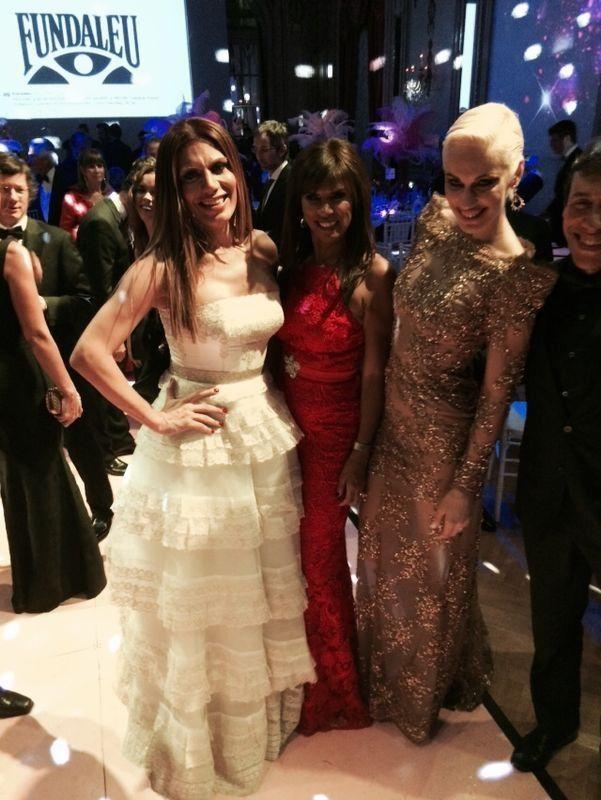 Los famosos en la Gala Fundaleu: solidaridad y glamour