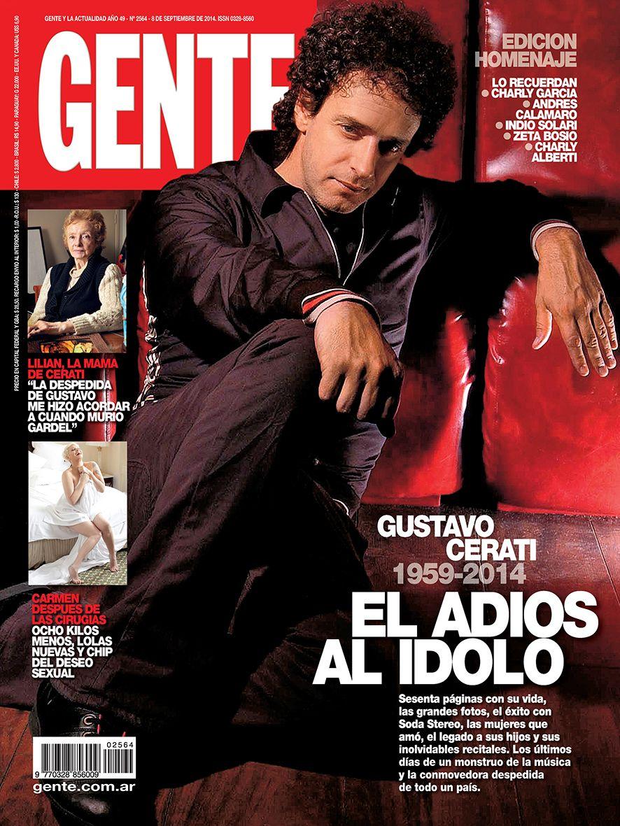 El adiós al ídolo: la emotiva tapa en homenaje a Gustavo Cerati